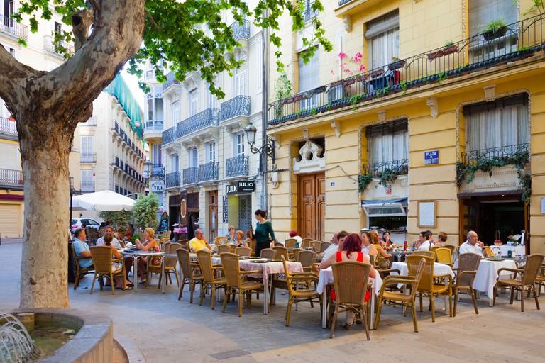 Placa Rodrigo Botet, Valencia
