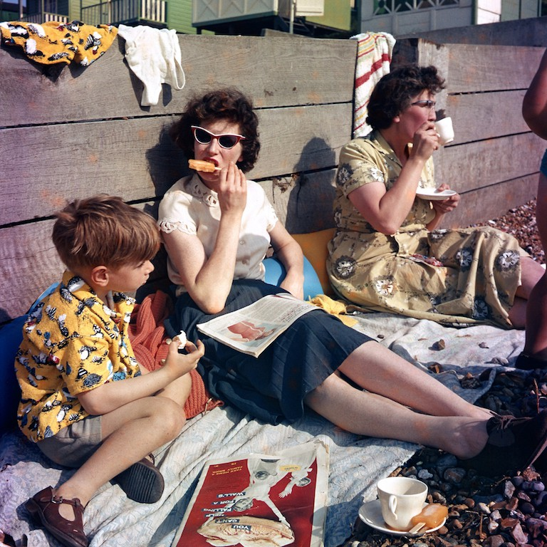 Down to the Beach. Photographer: Raymond C Lawson, 1959