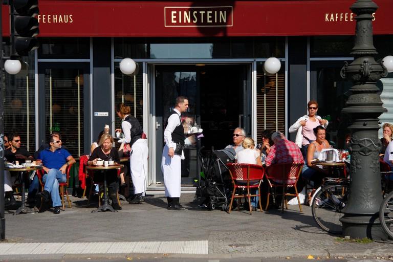 Cafe Einstein, Unter den Linden, Berlin-Mitte.
