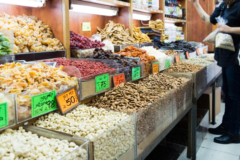 Levinsky Market in Tel Aviv, Israel