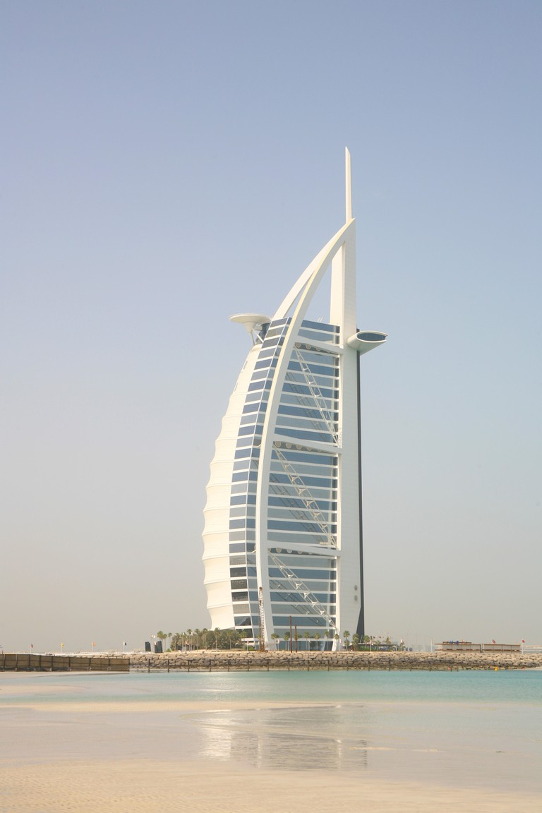 Burj Al Arab, Dubai, United Arab Emirates. Image shot 05/2014. Exact date unknown.