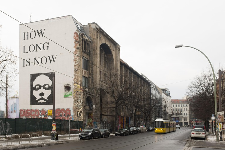 The Kunsthaus Tacheles on Januar 10th in Berlin