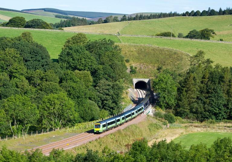 New Borders Railway in Scotland.
