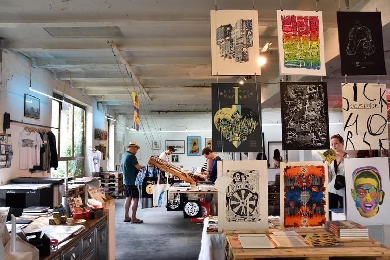Urban Spree Gallery, Friedrichshain