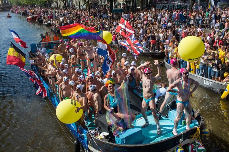 Gaypride 2016 in Amsterdam