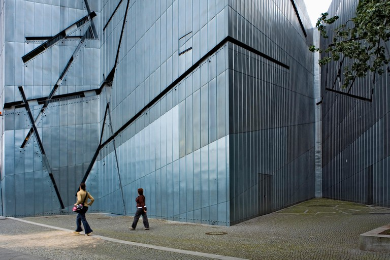 Judisches museum, by Daniel Libeskind.Berlin. Germany