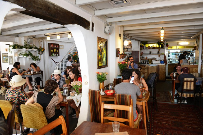The Puaa cafe in Jaffa.