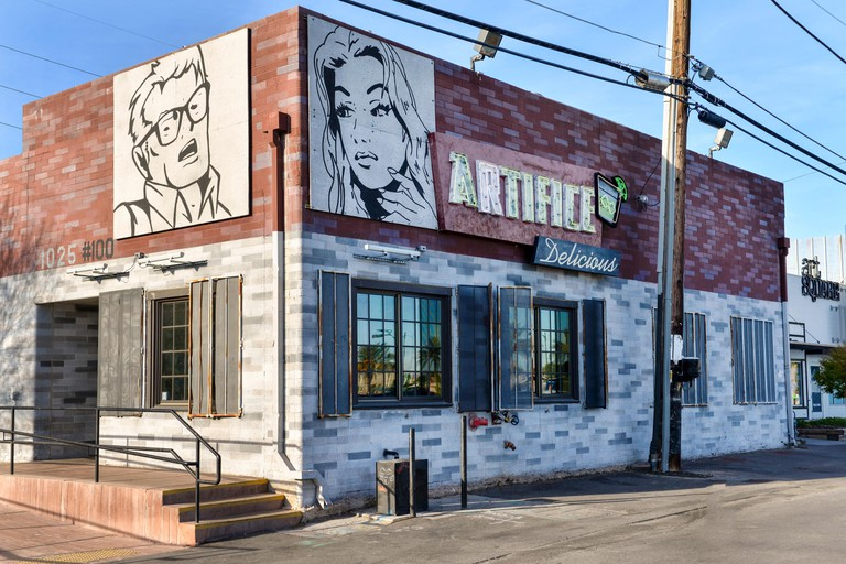 Artifice Urban Lounge & Restaurant in the arts district of downtown Las Vegas