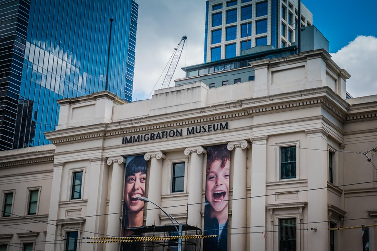 melbourne immigration museum building