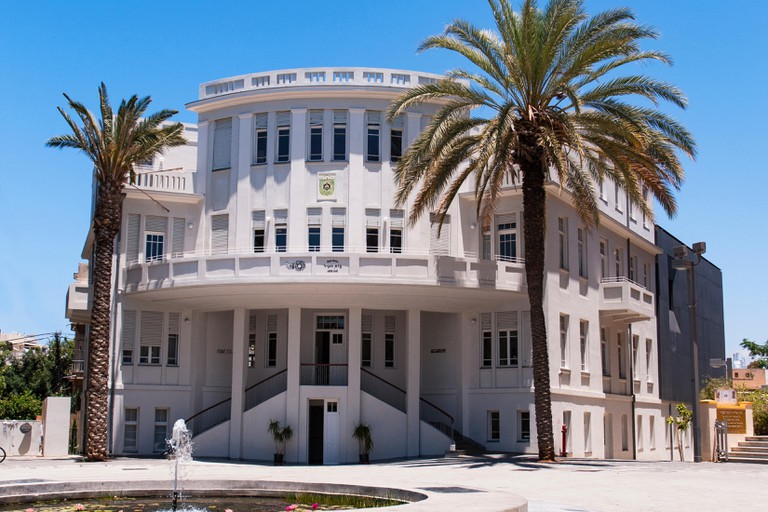 Tel Aviv's first city hall building on Bialik Street, history museum