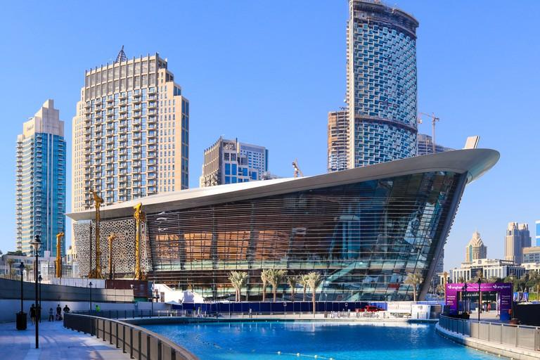 The Dubai Opera Arts Centre