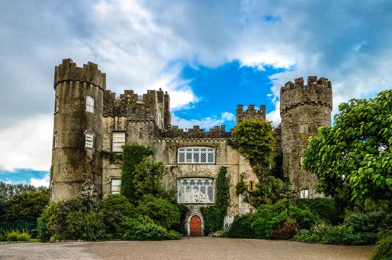 Ireland, Dublin county, the Malahide castle