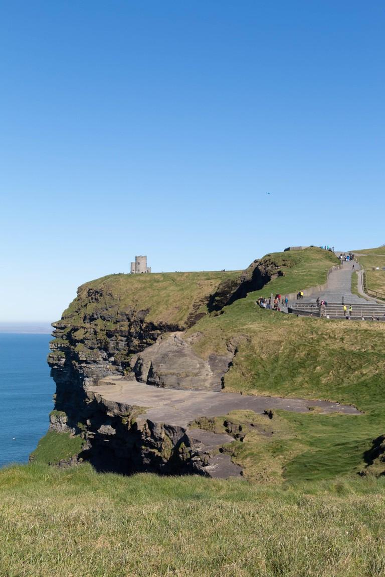 Cliffs of Moher, Ireland North Atlantic Coast, Co Clare