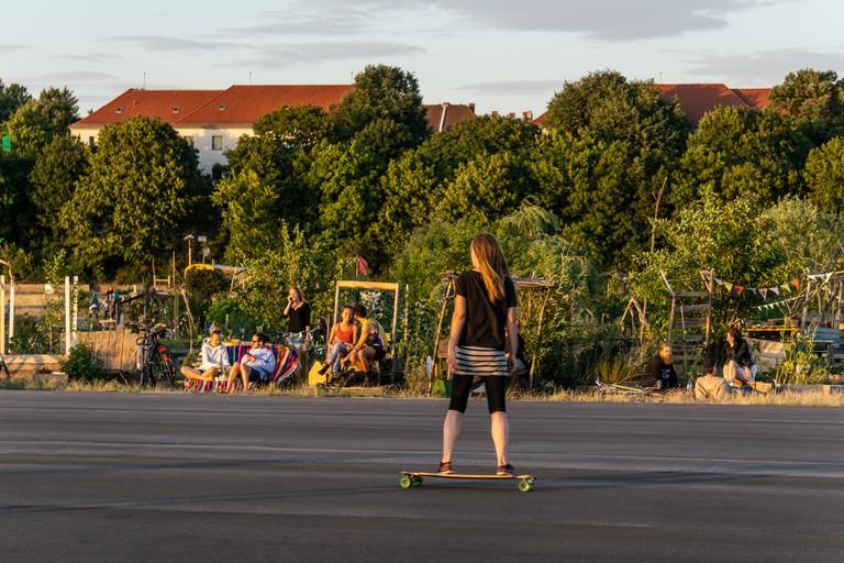 Tempelhofer Feld, a former airport area