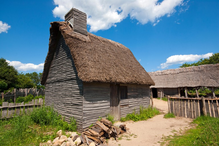 Plimoth Plantation, Plymouth, Massachusetts.