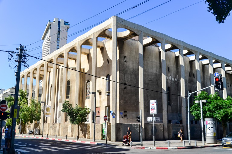 The Great Synagogue of Tel Aviv, Israel.