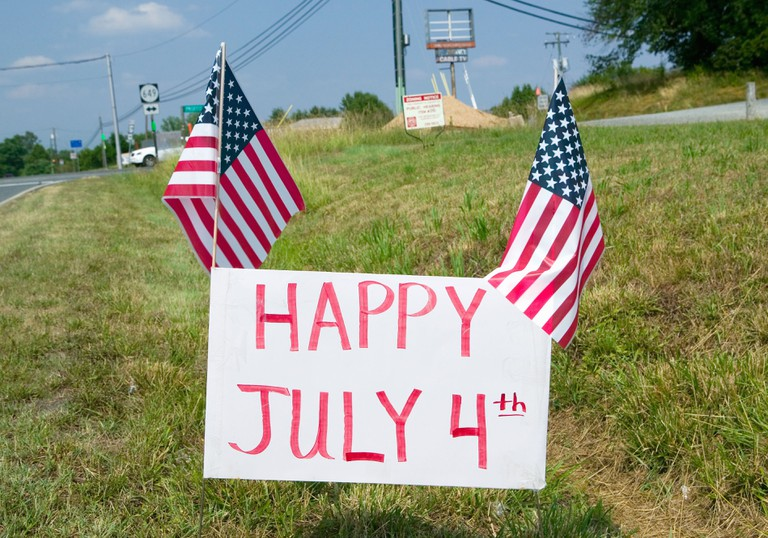 Many Americans celebrate July 4th with barbecues, parades and fireworks
