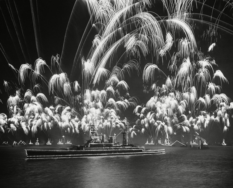 British Fleet Fireworks
