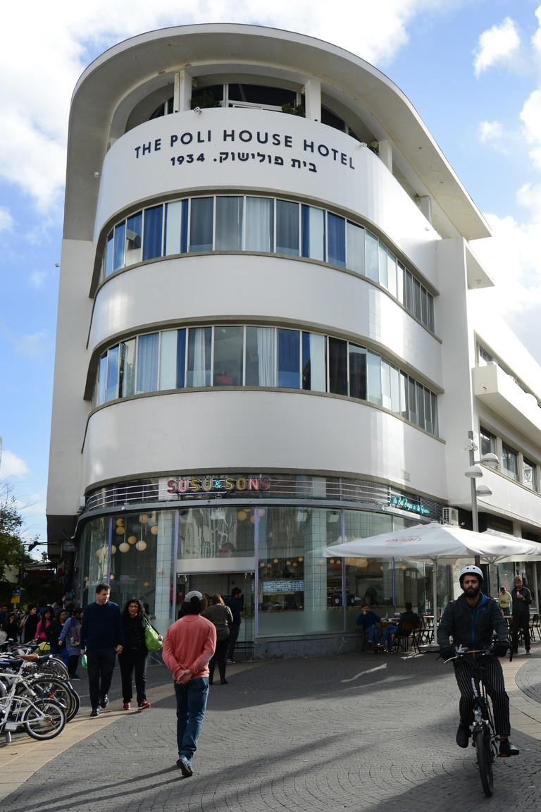 The Poli House hotel in Tel-Aviv.