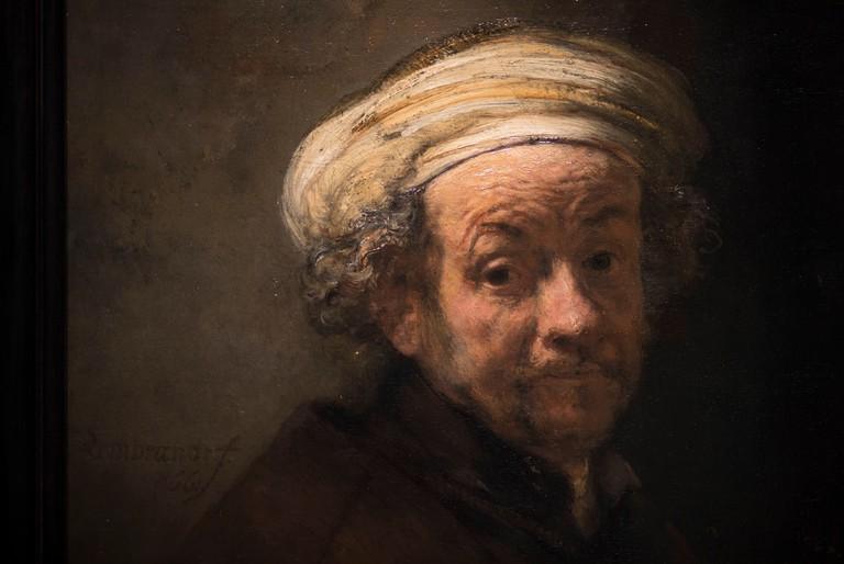 Rembrandt, Amsterdam, Netherlands - 13 Feb 2019