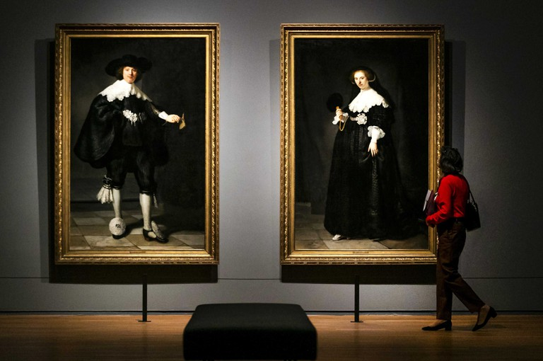 Rijksmuseum's Rembrandt collection on show for 350th anniversary of Rembrandt's death, Amsterdam, Netherlands - 13 Feb 2019