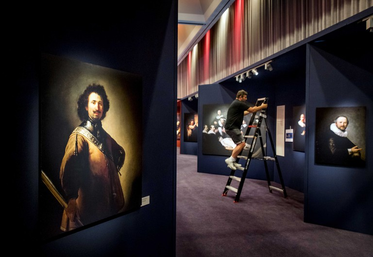 Exhibition 'Discover Rembrandt - His life and all his paintings' in the RAI in Amsterdam, Netherlands - 04 Jul 2019