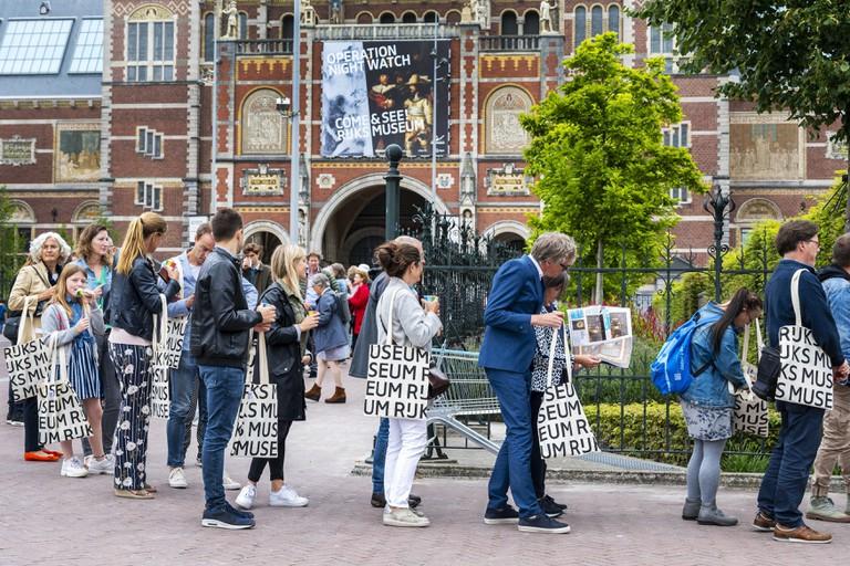 Lang Leve Rembrandt exhibition opens in Amsterdam, Netherlands - 15 Jul 2019