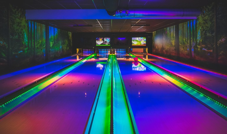 Colourful bowling in Amsterdam