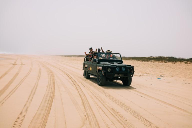 Participants in the Dakar Rally, Senegal