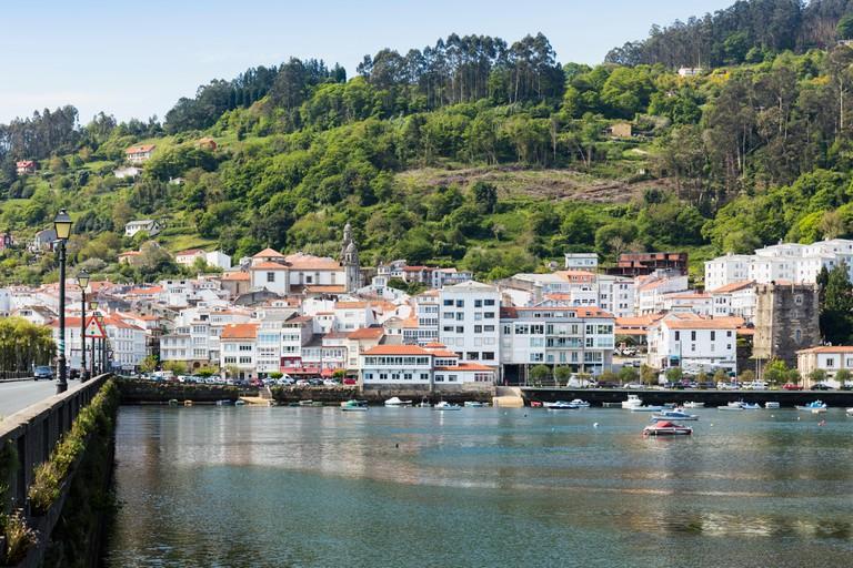 Cabanas on the Ria de Betanzos, Galicia