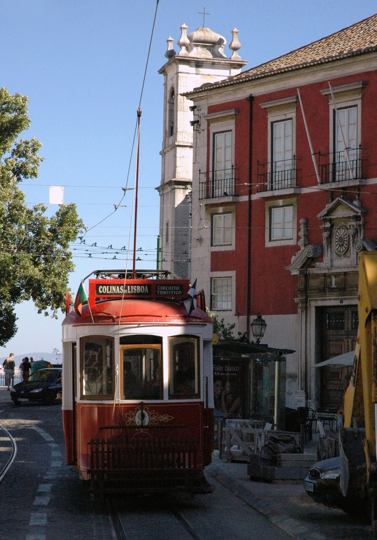 View of the Barrio Alto in Lisbon