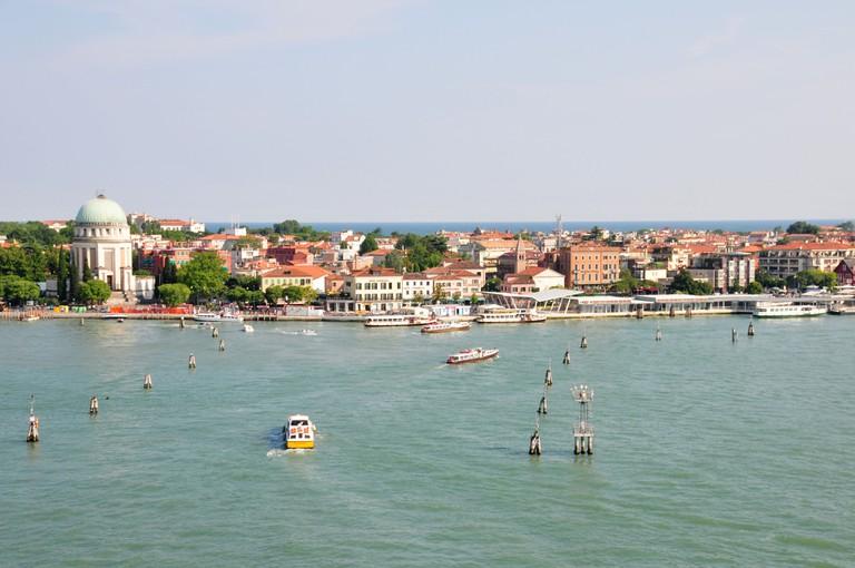Lido di Venezia waterfront