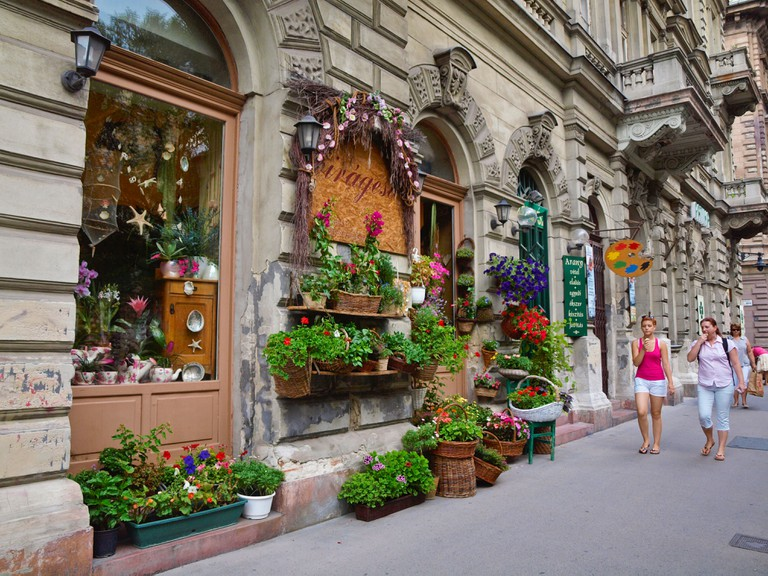 Andrassy Avenue, Budapest