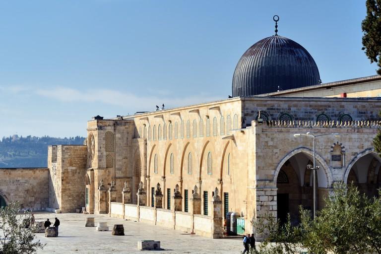 Al Aqsa Mosque in Jerusalem, the 3rd holiest site in Islam.