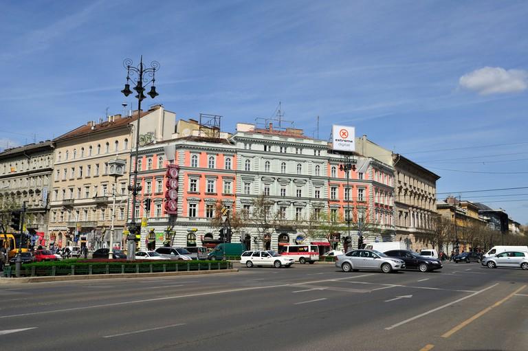 Oktogon, Budapest, Hungary