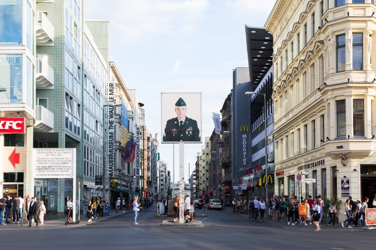 Checkpoint Charlie was designated as the sole crossing point for foreigners and members of the Allied forces