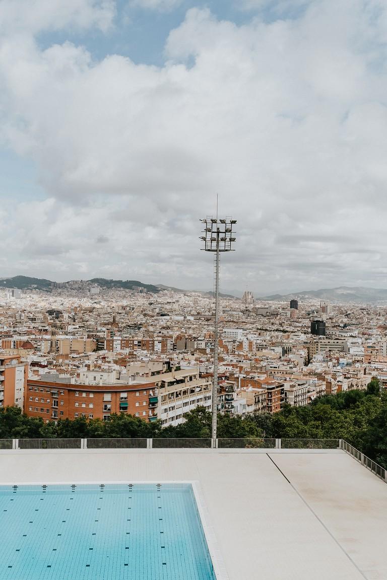 Montjuïc offers incredible views of Barcelona's skyline