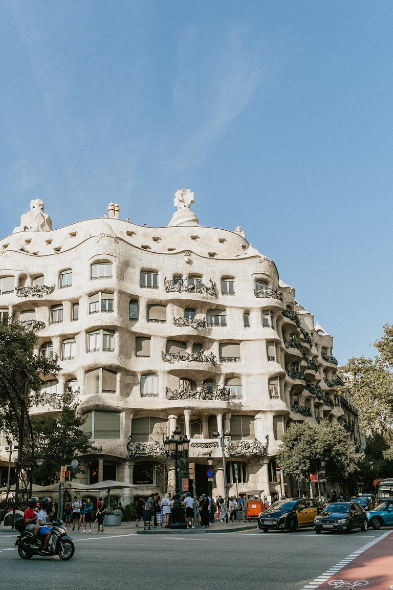 Casa Milà is another masterpiece by Gaudí