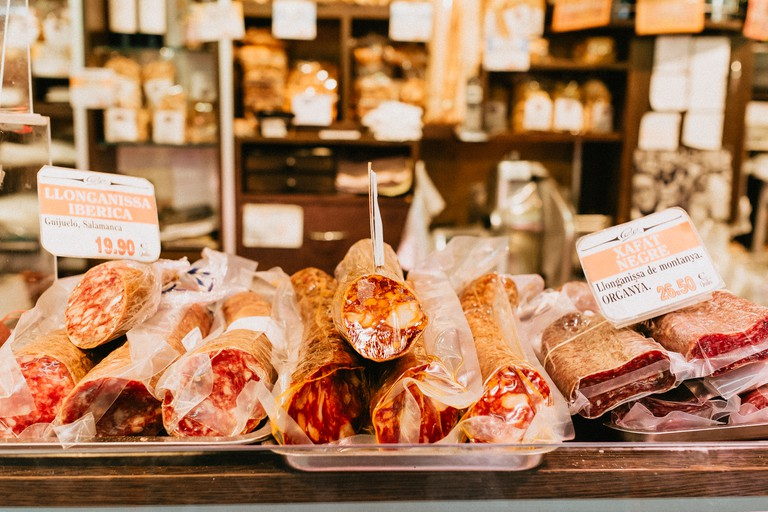 Cured meats make for a great souvenir