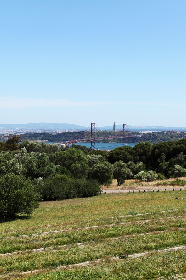View from Monsanto Park in Lisbon, Portugal.