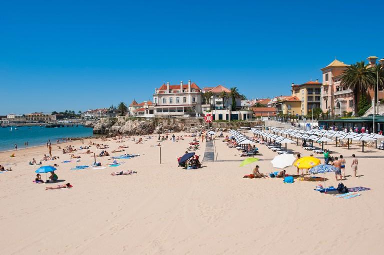 Praia da Conceicao, Cascais, Lisbon Coast, Portugal
