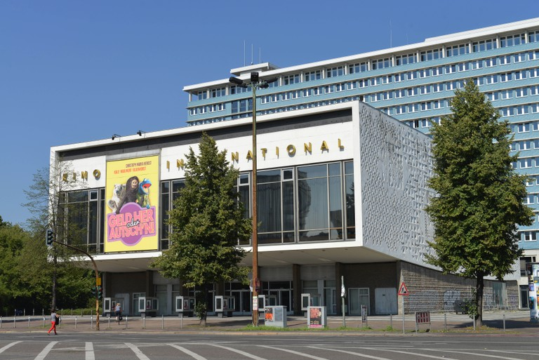 The three-storey Kino International was East Germany's foremost cinema