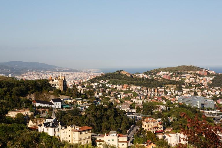 View of Barcelona from Parc de Collserola