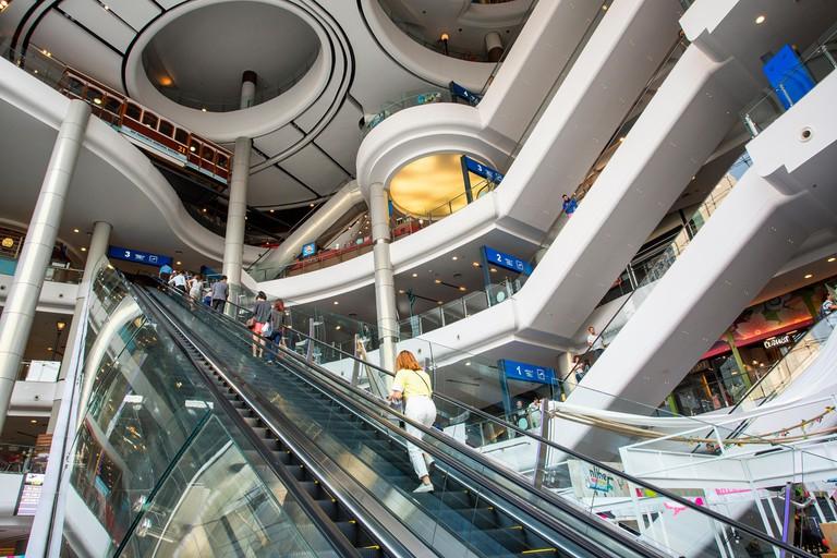Bangkok, Terminal 21 Shopping Mall. Image shot 02/2019. Exact date unknown.