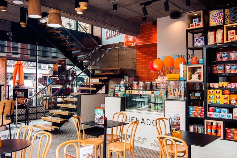 Chocolateria coffee shop, Brunswick Street, Fitzroy, Melbourne, Victoria, Australia