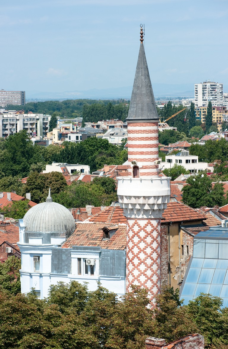 Djoumaia mosque in Plovdiv (Bulgaria)