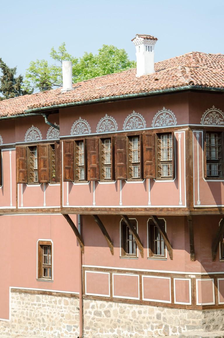 Balabanov House, Old Town of Plovdiv, Bulgaria.