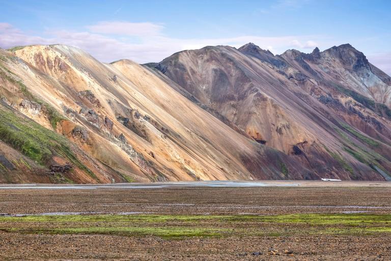 Landmannalaugar, Fjallabak Nature Reserve, Rangarping ytra, Iceland.