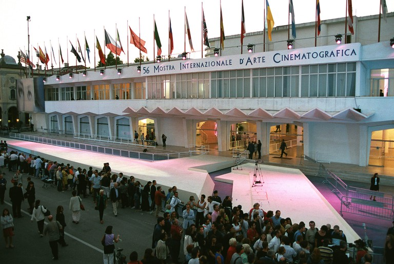Palazzo Del Cinema during the Venice Film Festival, 1999