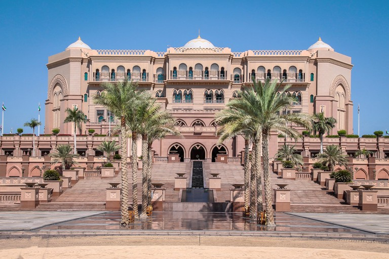 Emirates Palace - Abu Dhabi, United Arab Emirates